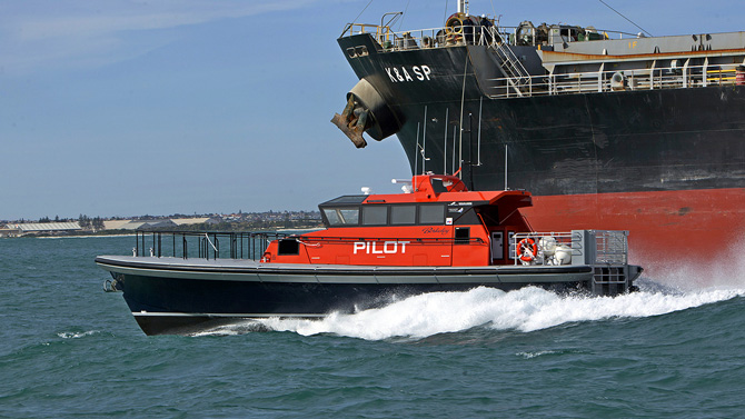 Berkeley Pilot boat sold to Fremantle Pilots - Dongara Marine Western Australia