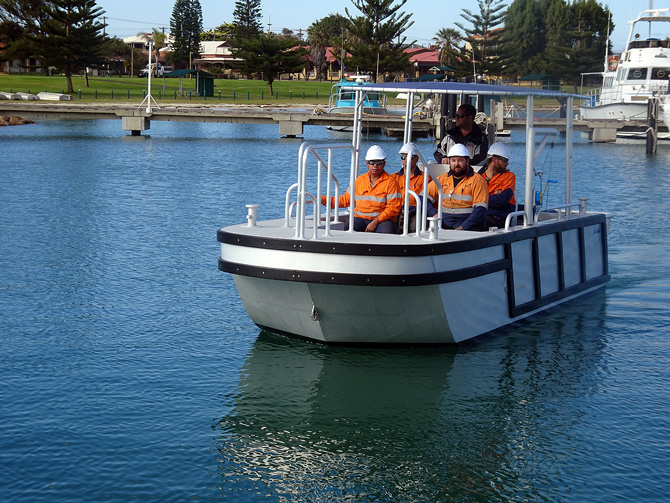 Dongara Marine's multipurpose Bulldog for Pilbara Ports Authority