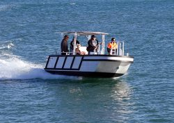 Multipurpose work boat / harbour craft Bulldog for Pilbara Ports Authority in Port Hedland