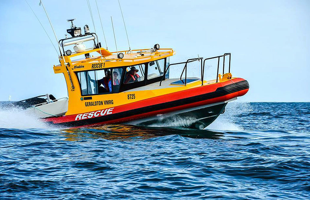 Dongara Marine - Nashira search and rescue rigid inflatable boat