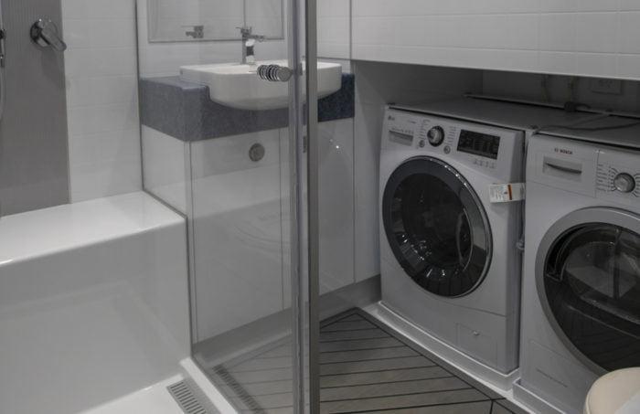 Multipurpose vessel laundry and bathroom
