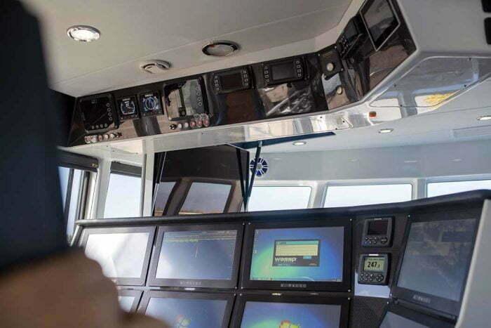 Multipurpose vessel electronics