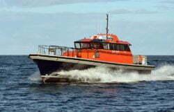New ultra-efficient Berkeley Class Pilot Boat Genesis from Dongara Marine