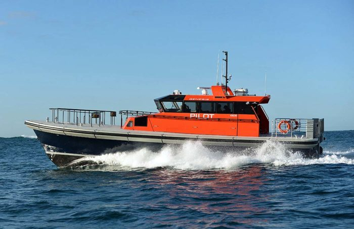 New ultra-efficient Berkeley Class Pilot Boat Genesis from Dongara Marine