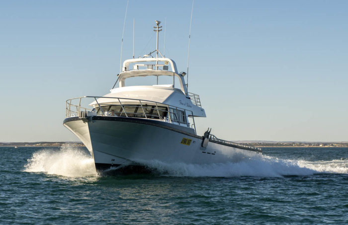 Fine entry on crayboat Force of Nature for Geraldton lobster fishing